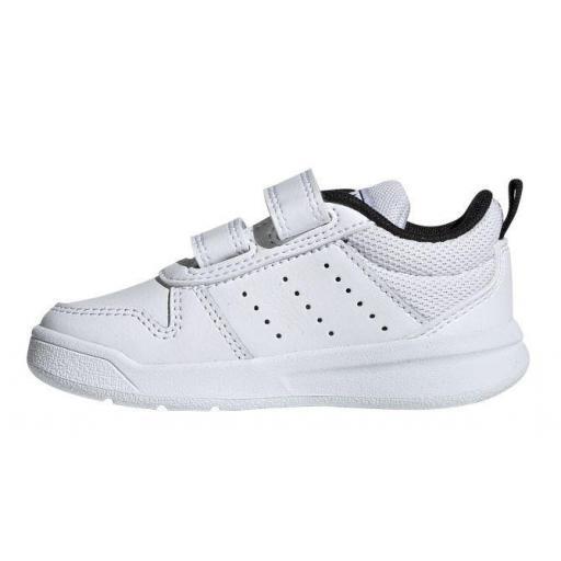 Zapatillas Adidas Tensaur I Niño Velcro Blanco/Negro [1]