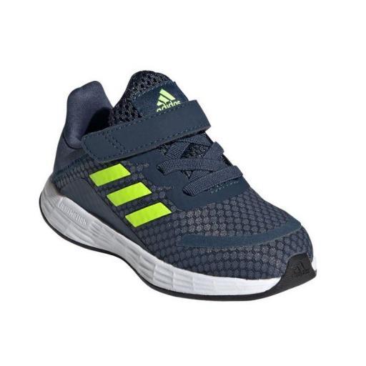 Zapatillas Adidas Duramo SL I Velcro Niños Azul Marino/Amarillo [1]