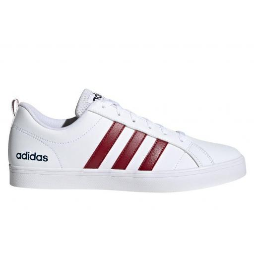 Zapatillas Adidas vs Pace Blanco/Granate