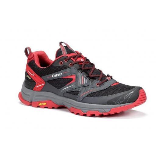 Zapatillas Chiruca MAUI 09 Gore Tex Negro/Rojo [1]