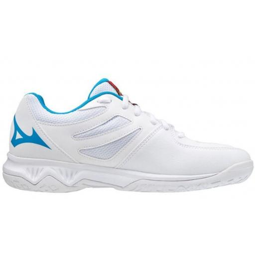 Mizuno Zapatillas Lightning Star Z5 Junior Blanco/Azul [1]