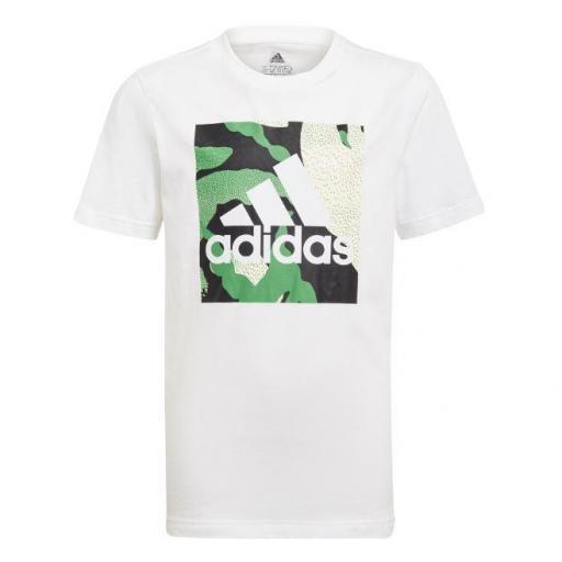 Camiseta Adidas Camo Graphic Tee Niño Camuflaje