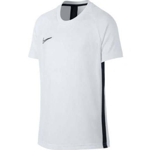 Camiseta Nike Dri-Fit Academy Top SS Niños Blanca [0]