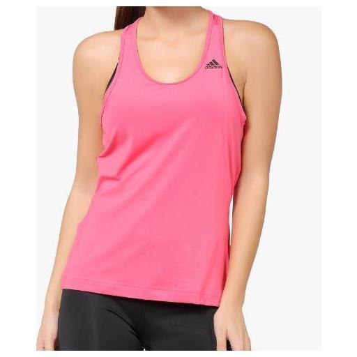 Camiseta Tirantes Adidas D2M Tank rosa [2]