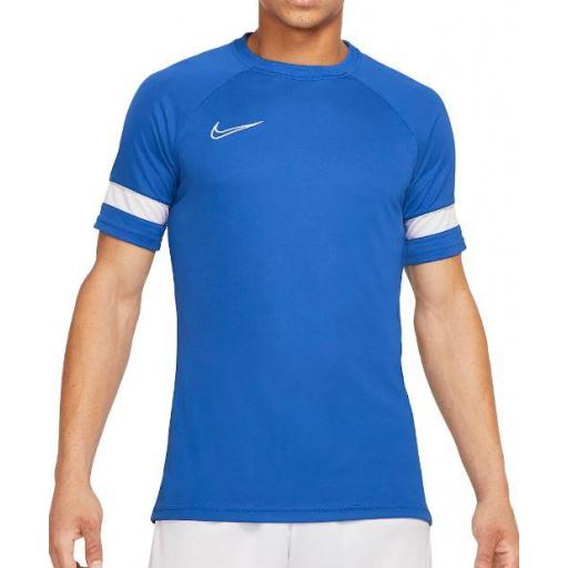 Camiseta Nike Dri-FIT Academy 21 Top Azul/Blanco