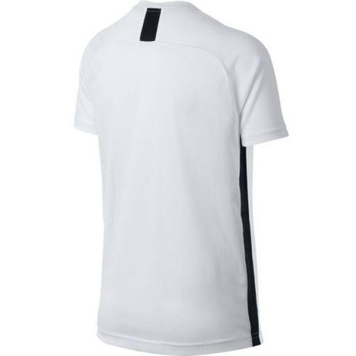 Camiseta Nike Dri-Fit Academy Top SS Niños Blanca [2]
