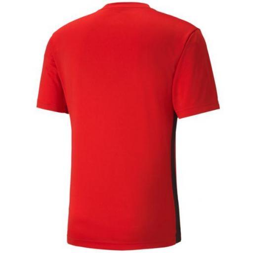 Camiseta Puma FtblPlay Graphic Shirt Rojo/Negro [1]
