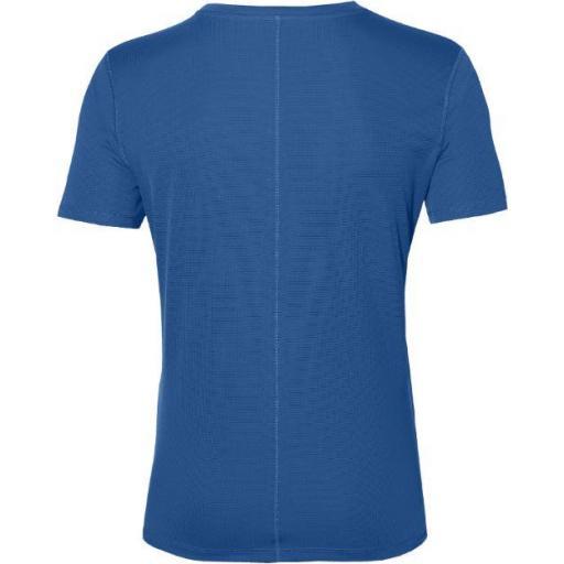 Asics Camiseta Manga Corta Silver SS TOP Azul [2]