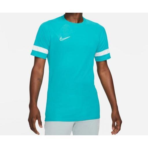 Camiseta Nike Academy Dri-FIT 21 Top Verde Agua