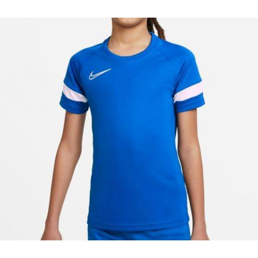 Camiseta Nike Dri-FIT Academy Top 21 Niños Azul