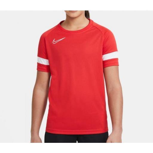 Camiseta Nike Academy Dri-FIT 21 Top Niños Roja