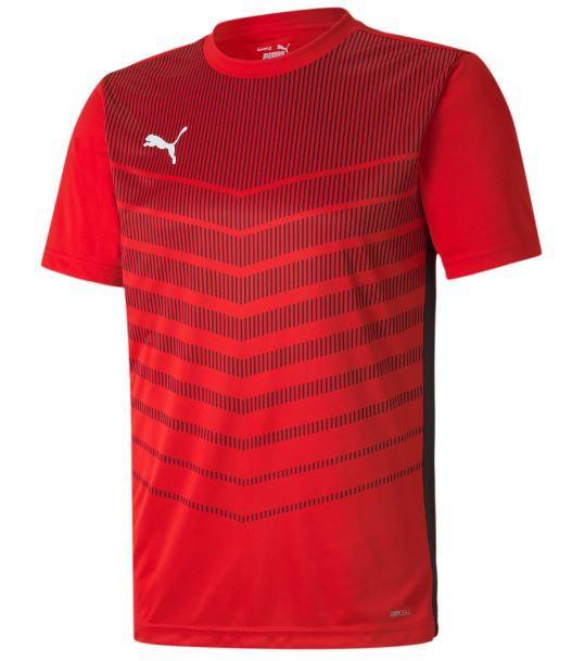 Camiseta Puma FtblPlay Graphic Shirt Rojo/Negro