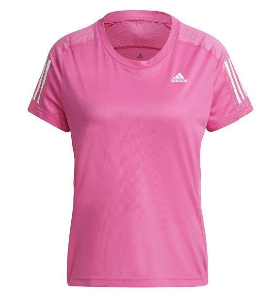 Camiseta Adidas Own The Run Tee Mujer Rosa