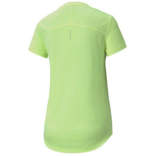 Camiseta Manga Corta Puma Ignite SS Tee Mujer Amarilla [1]
