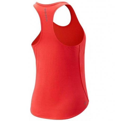 Camiseta Tirantes New Balance Accelerate Mujer Coral [1]