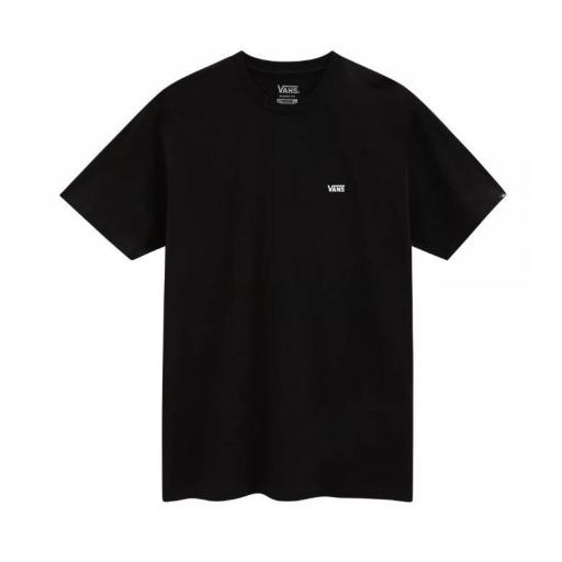 Camiseta Vans Left Chest Logo Tee Negra
