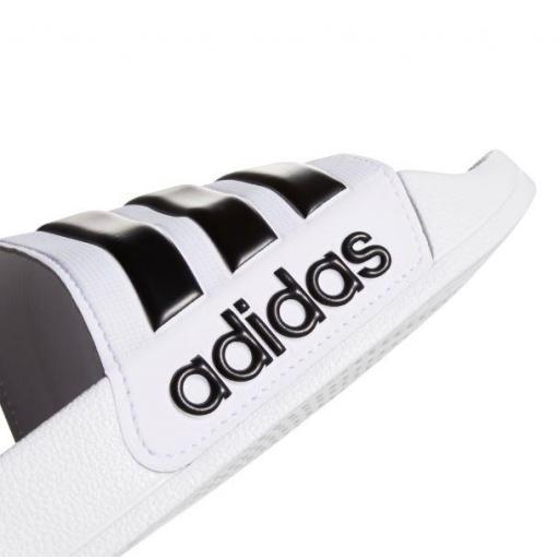 Chanclas Adidas Adilette Shower Blanca/Negra [2]