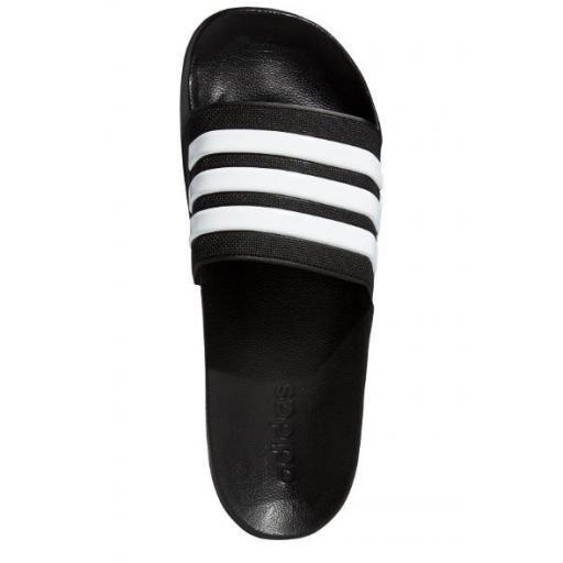 Chanclas Adidas Adilette Shower Negra/Blanca