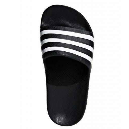 Chanclas Adidas Adilette Aqua K Negro Blanco [3]