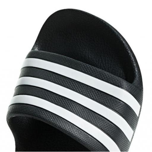 Chanclas Adidas Adilette Aqua K Negro Blanco [1]