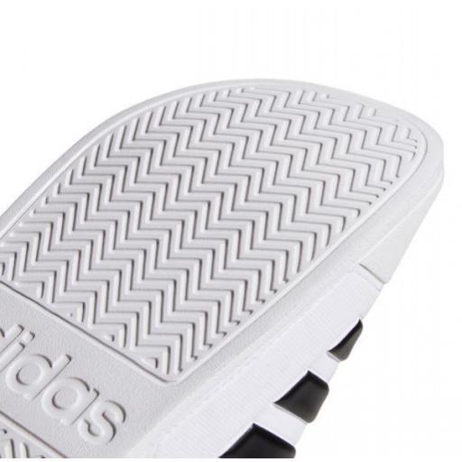 Chanclas Adidas Adilette Shower Blanca/Negra [3]