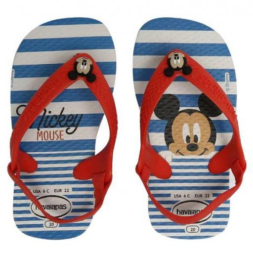 Chanclas Havaianas New Baby Disney Classics Mickey Mouse