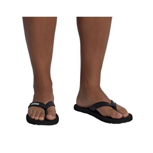 Chanclas Adidas Eezay Flip Flop Negro/Blanco [1]