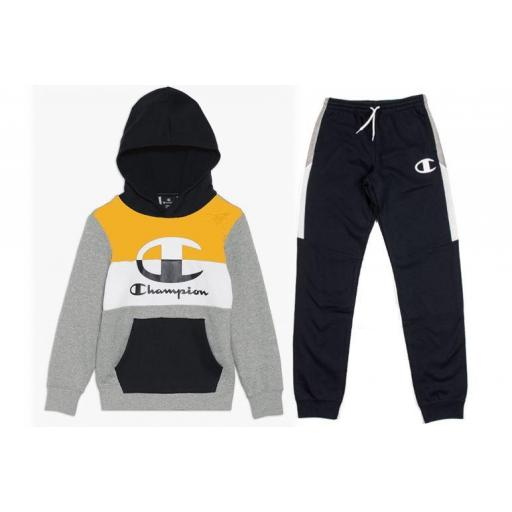 Chándal Champion Niños Authentic Hooded Pants
