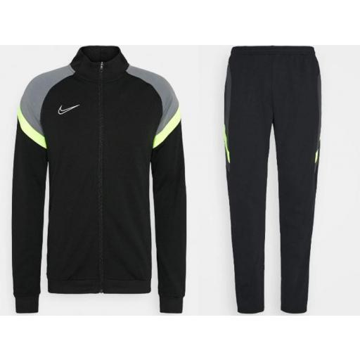 Chándal Nike Dri-FIT Academy TrackSuit K FP Hombre Negro/Gris