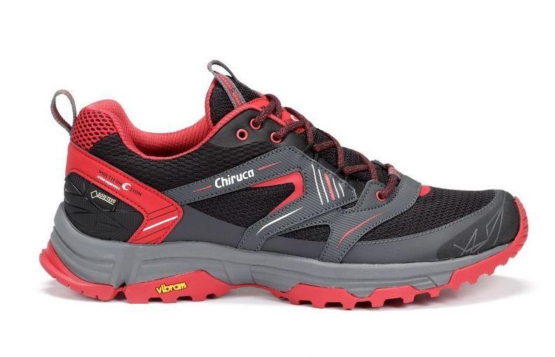 Zapatillas Chiruca MAUI 09 Gore Tex Negro/Rojo