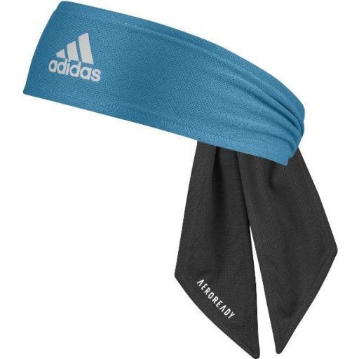Adidas Cinta para el pelo Tennis Reversible Negro/Azul