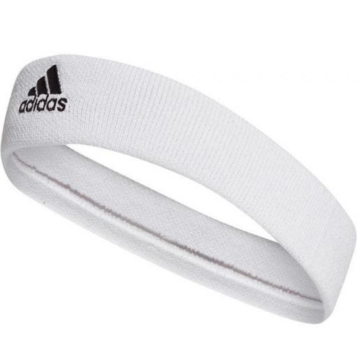 Cinta Pelo Adidas Tennis Headband Blanca
