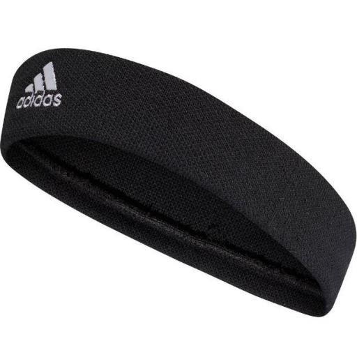 Cinta Pelo Adidas Tennis Headband Negra