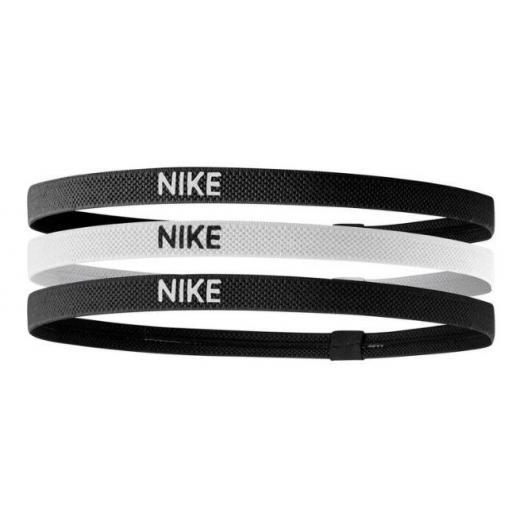 Cinta Pelo Nike Elastic Hairbands Pack 3 Negro Blanco