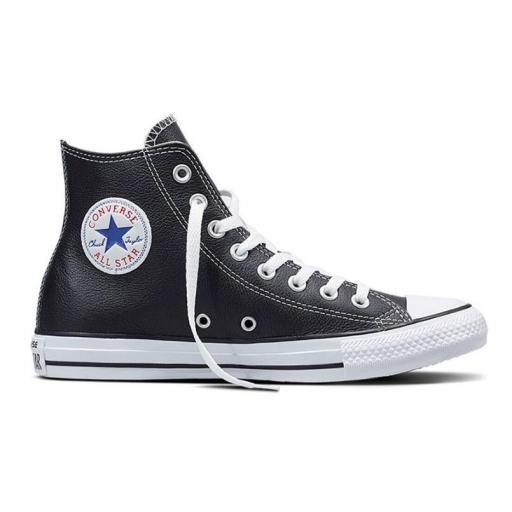 Zapatillas Converse Chuck Taylor All Star HI Piel Negra