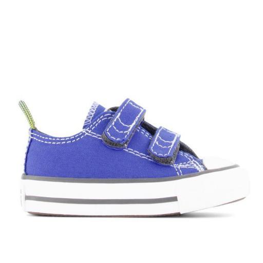Zapatillas Converse CTAS OX Velcro Niños Azul Royal