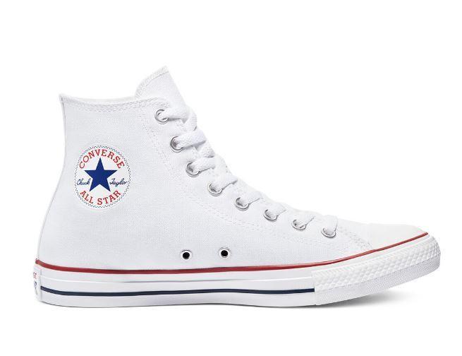 Zapatillas Converse All Star Hi Blancas