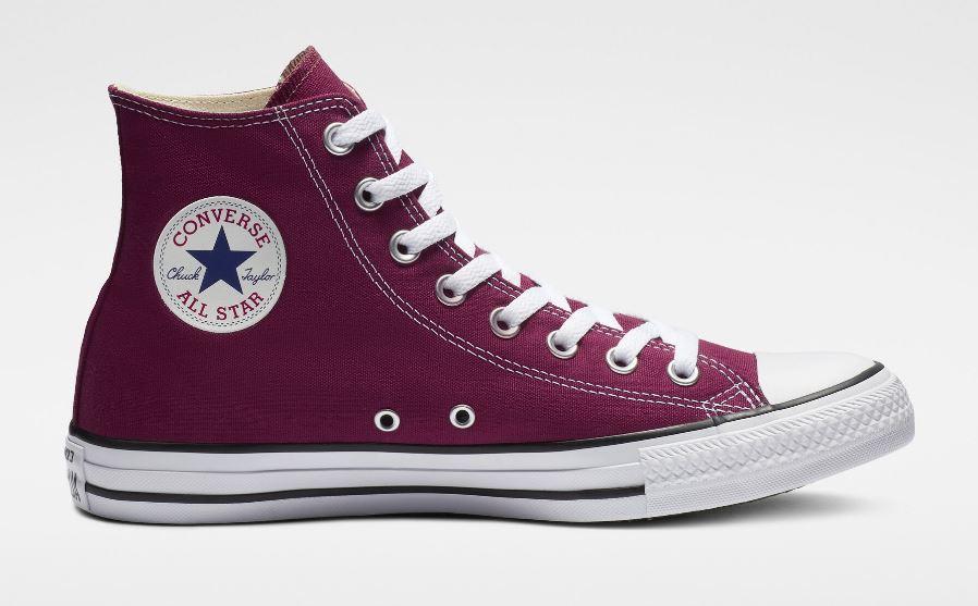 Zapatillas Converse Chuck Taylor All Star HI Bota Granate