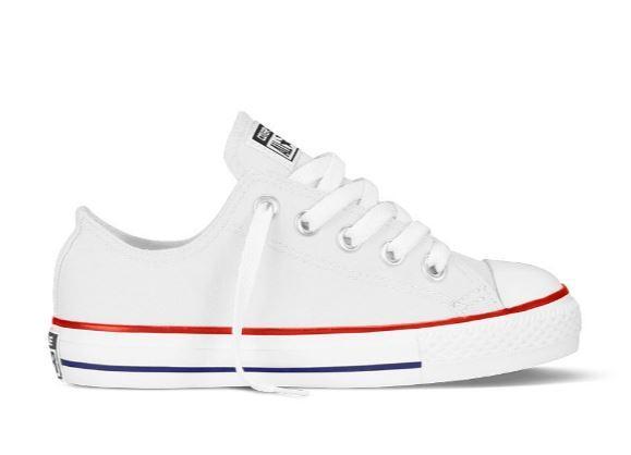 Zapatillas All Star Converse Blancas Niños