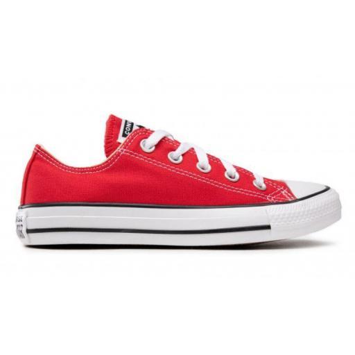 Zapatillas Converse Chuck Taylor All Star Lona Roja