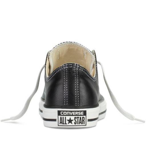 Zapatillas Converse All Star Chuck Taylor CT OX Piel Negra [3]