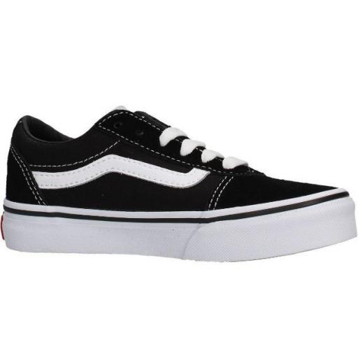 Zapatos Vans YT Ward Niños Negro/Blanco [1]