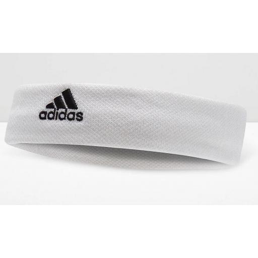 Cinta Pelo Adidas Tennis Headband Blanca [1]