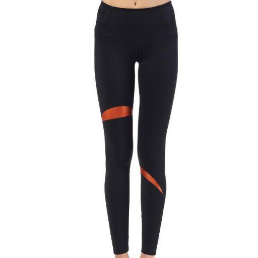 Ditchil URBI Leggings Negro/Naranja