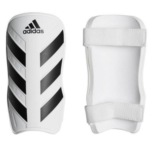 Espinilleras Fútbol Adidas Everlite Blanco/Negro