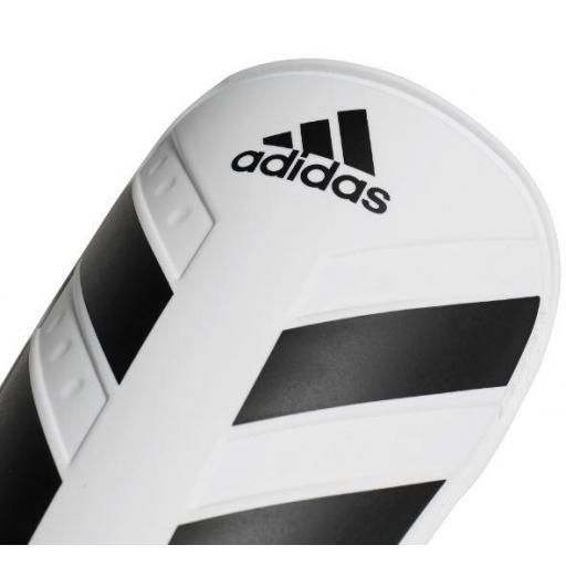 Espinilleras Fútbol Adidas Everlite Blanco/Negro [1]