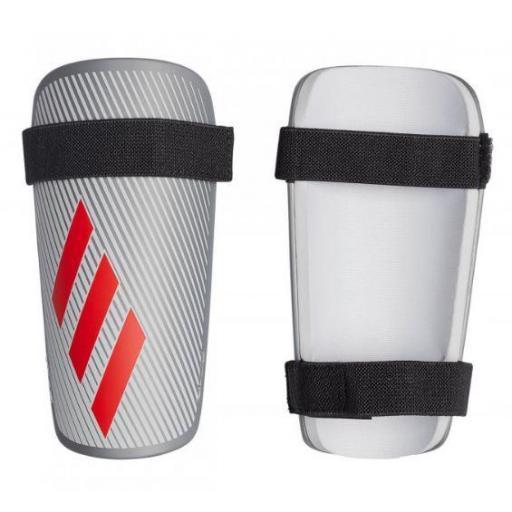Espinilleras Fútbol Adidas X-Lite Plateada