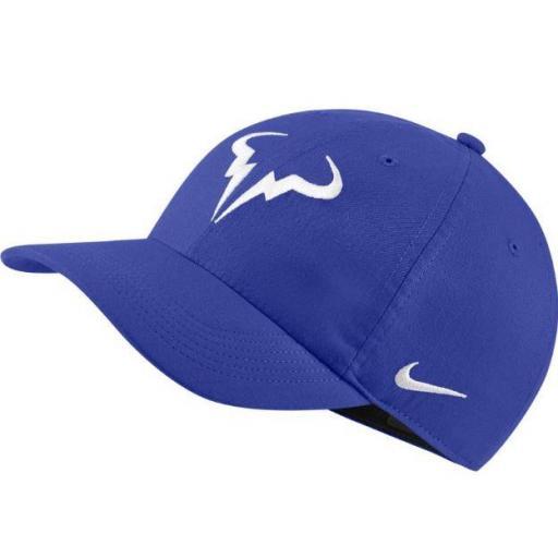 Gorra Nike Rafa Nadal AeroBill H86 Tenis Azul Royal
