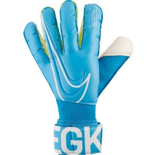 Guantes Portero Nike GK Grip3 Azul Blanco