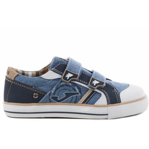 Zapatillas Joma Niños C.Park Jr 714 Azul